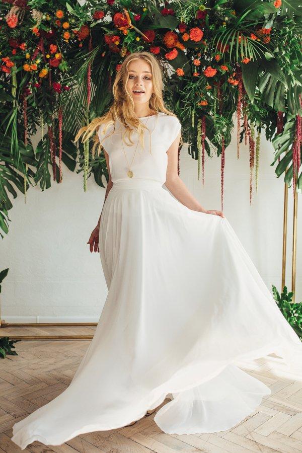 Sukienki ślubne - Boso - Riva