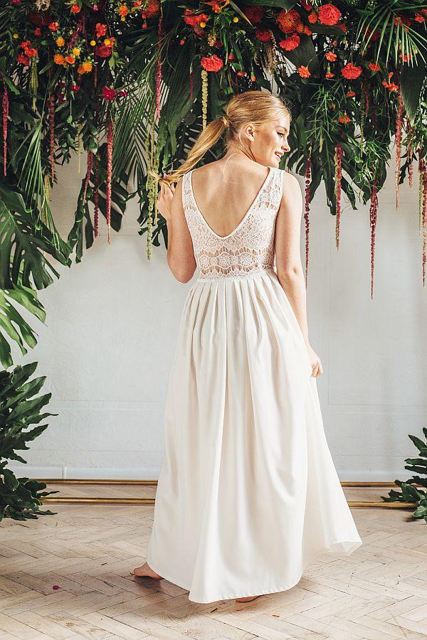 Sukienki ślubne - Boso - Chantal