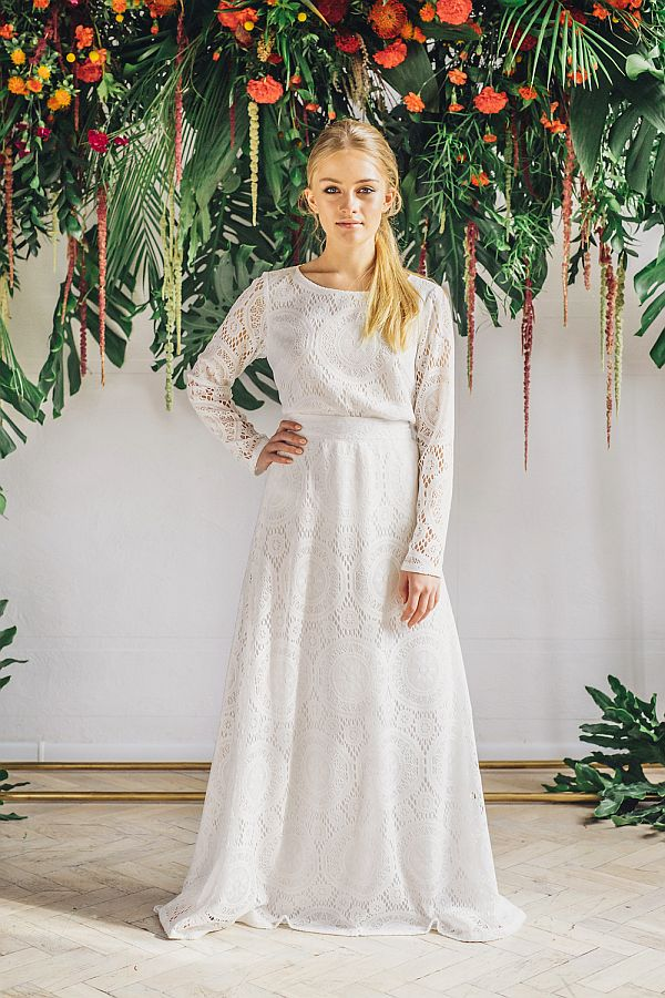 Sukienki ślubne - Boso - Giselle