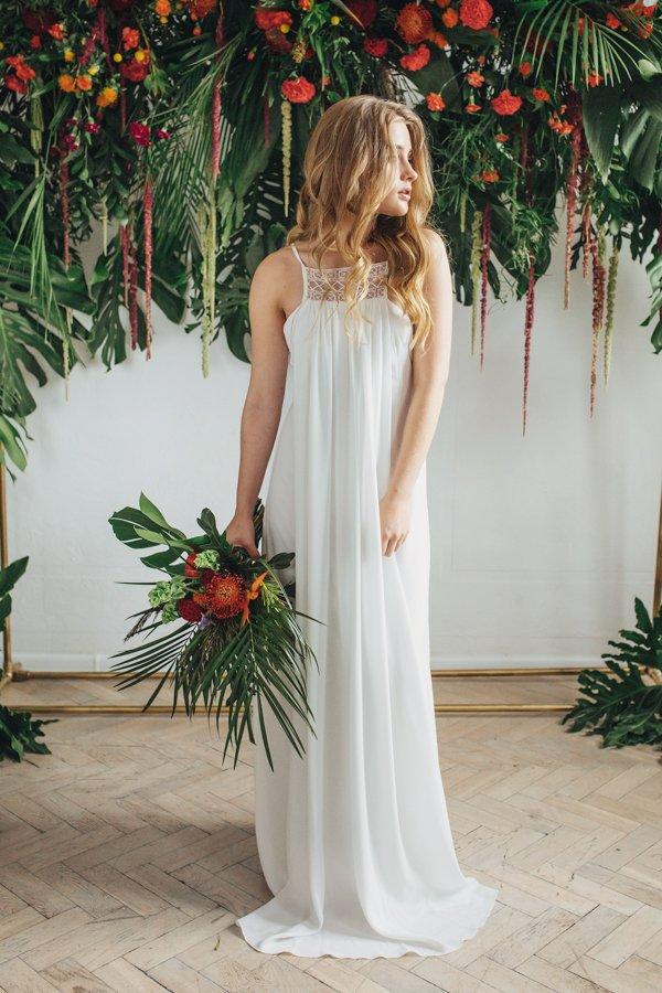 Sukienki ślubne - Boso - Makena