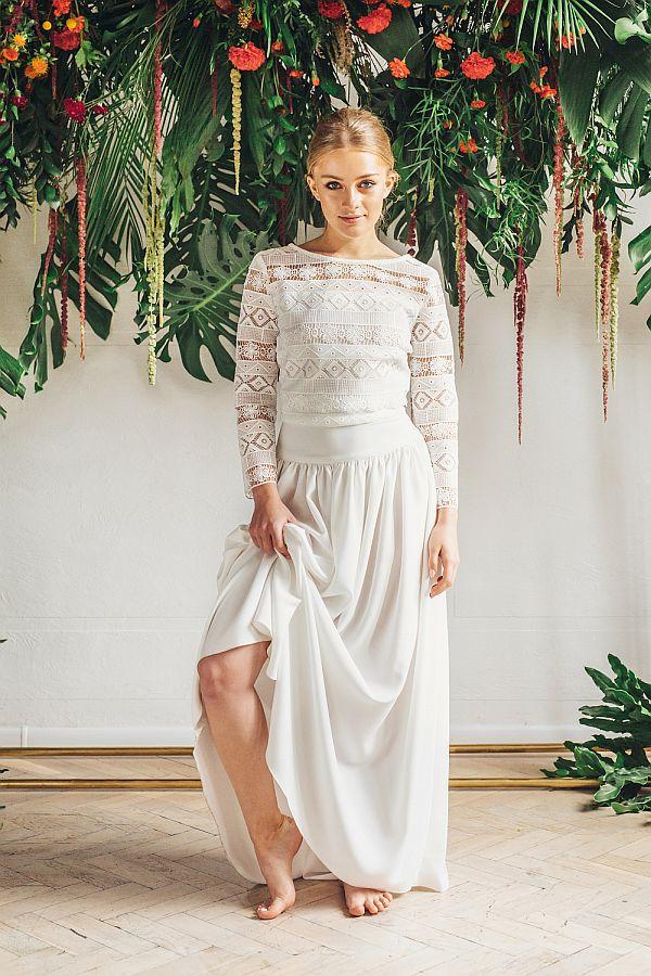 Sukienki ślubne - Boso - Mailea