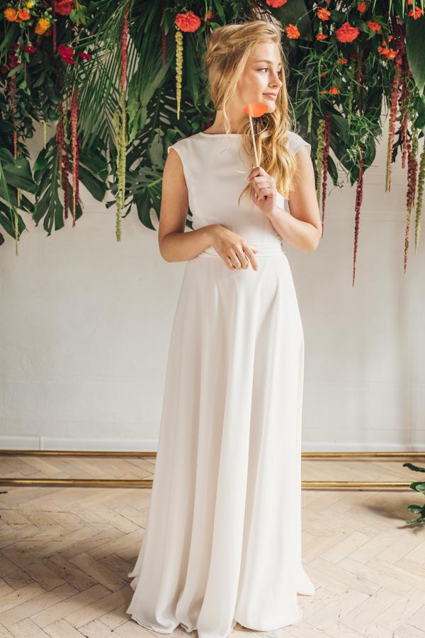 Suknia ślubna Boho Lissa Salon ślubny Bosonu