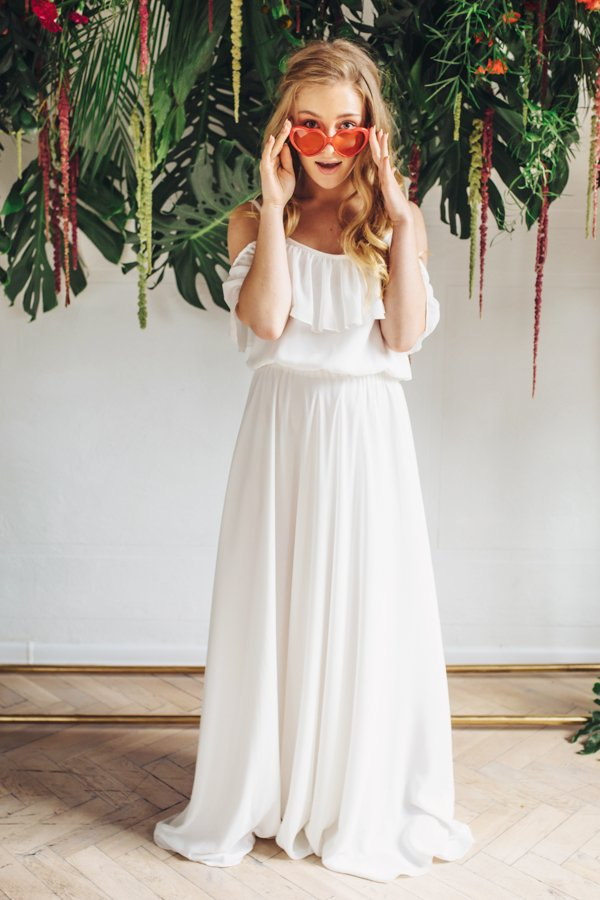 Sukienki ślubne - Boso - Shanika