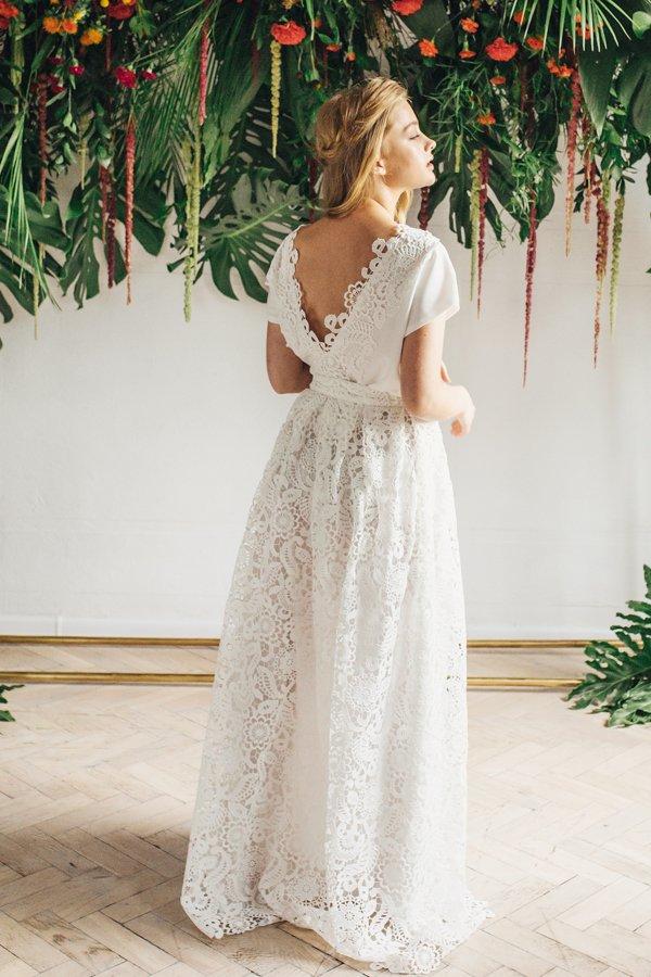 Sukienki ślubne - Boso - Rachela