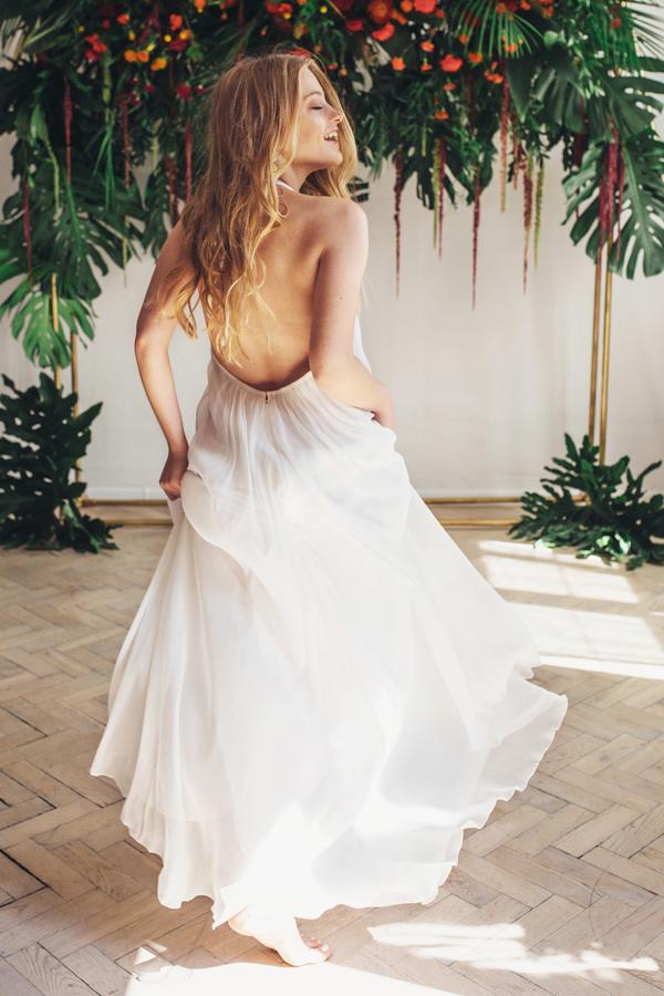 Sukienki ślubne - Boso - Salina