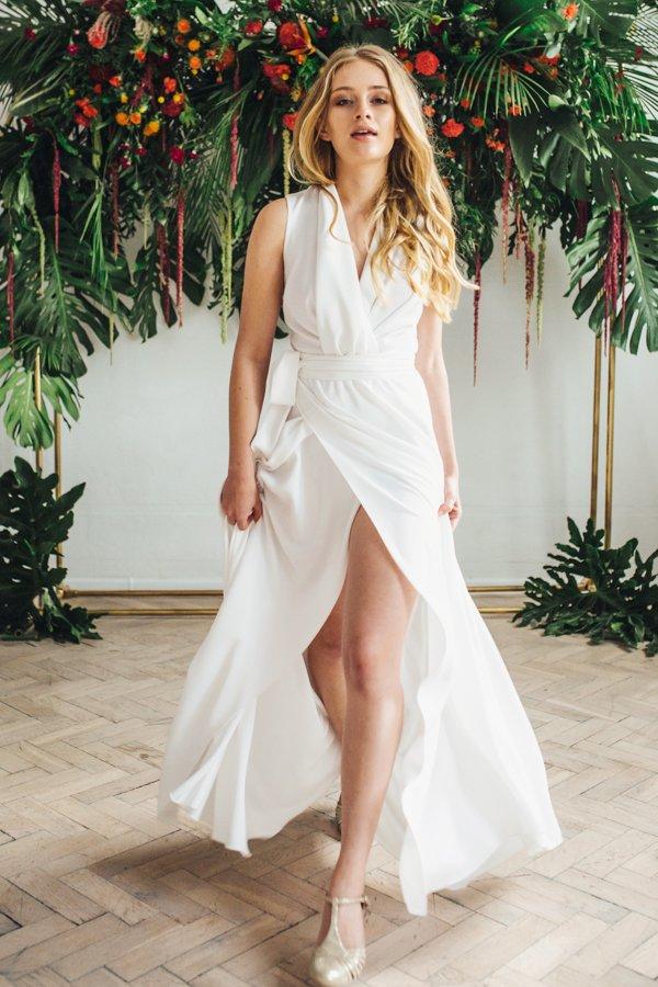 Sukienki ślubne - Boso - Samanaya