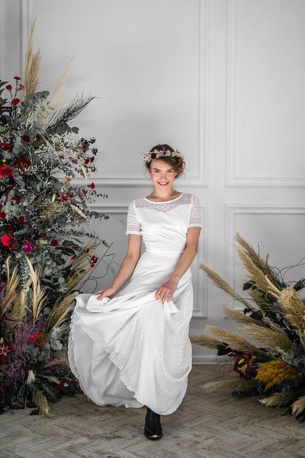 Sukienki ślubne - Boso - Yardena