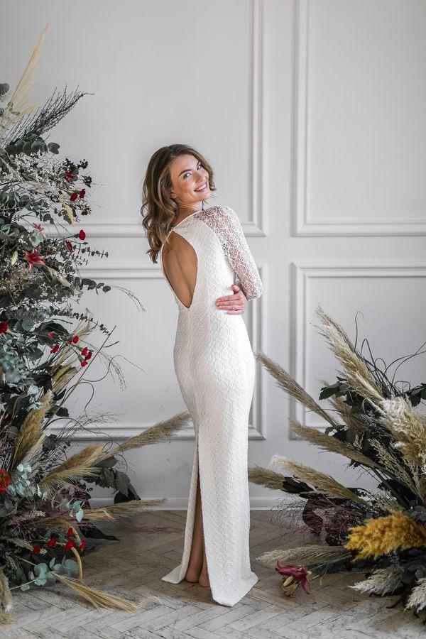 Sukienki ślubne - Boso - Tamika
