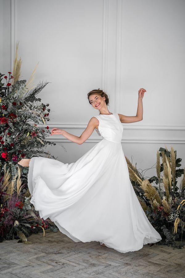 Sukienki ślubne - Boso - Frida