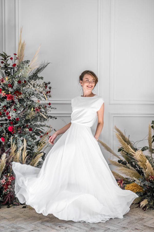 Sukienki ślubne - Boso - Amber