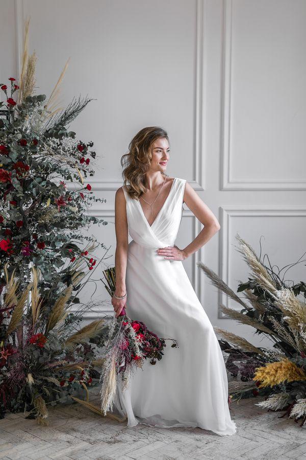 Sukienki ślubne - Boso - Shida