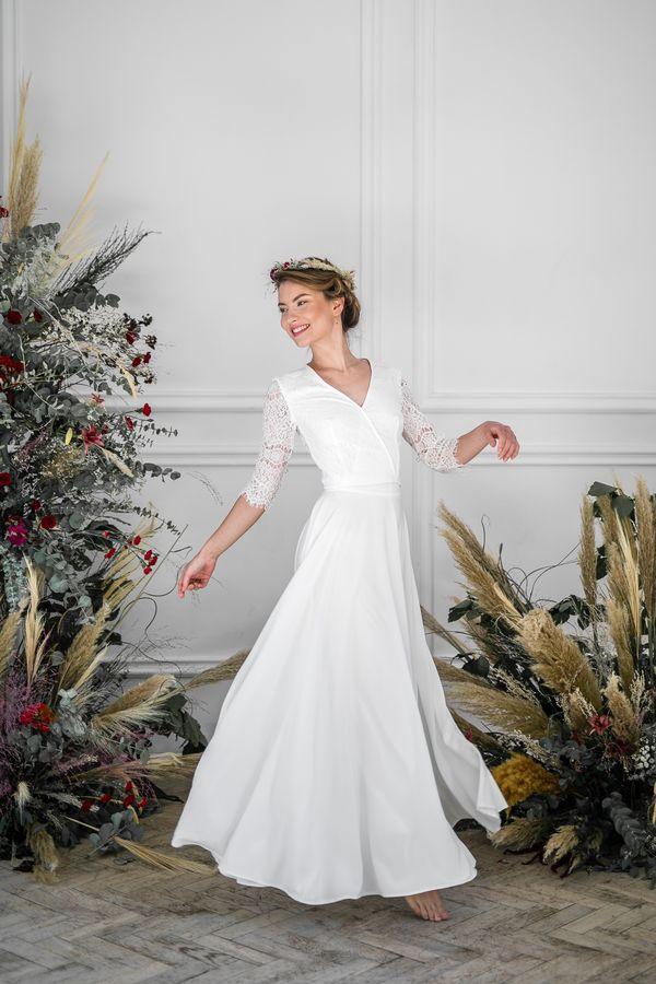 Sukienki ślubne - Boso - Luna