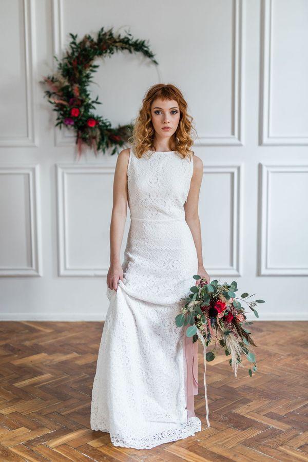 Sukienki ślubne - Boso - Maya