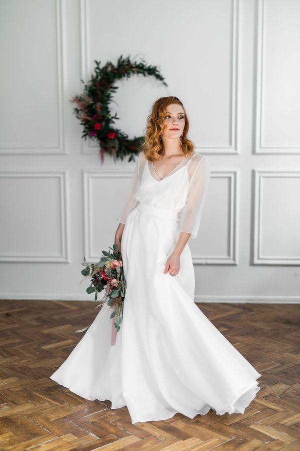 Sukienki ślubne - Boso - Adela