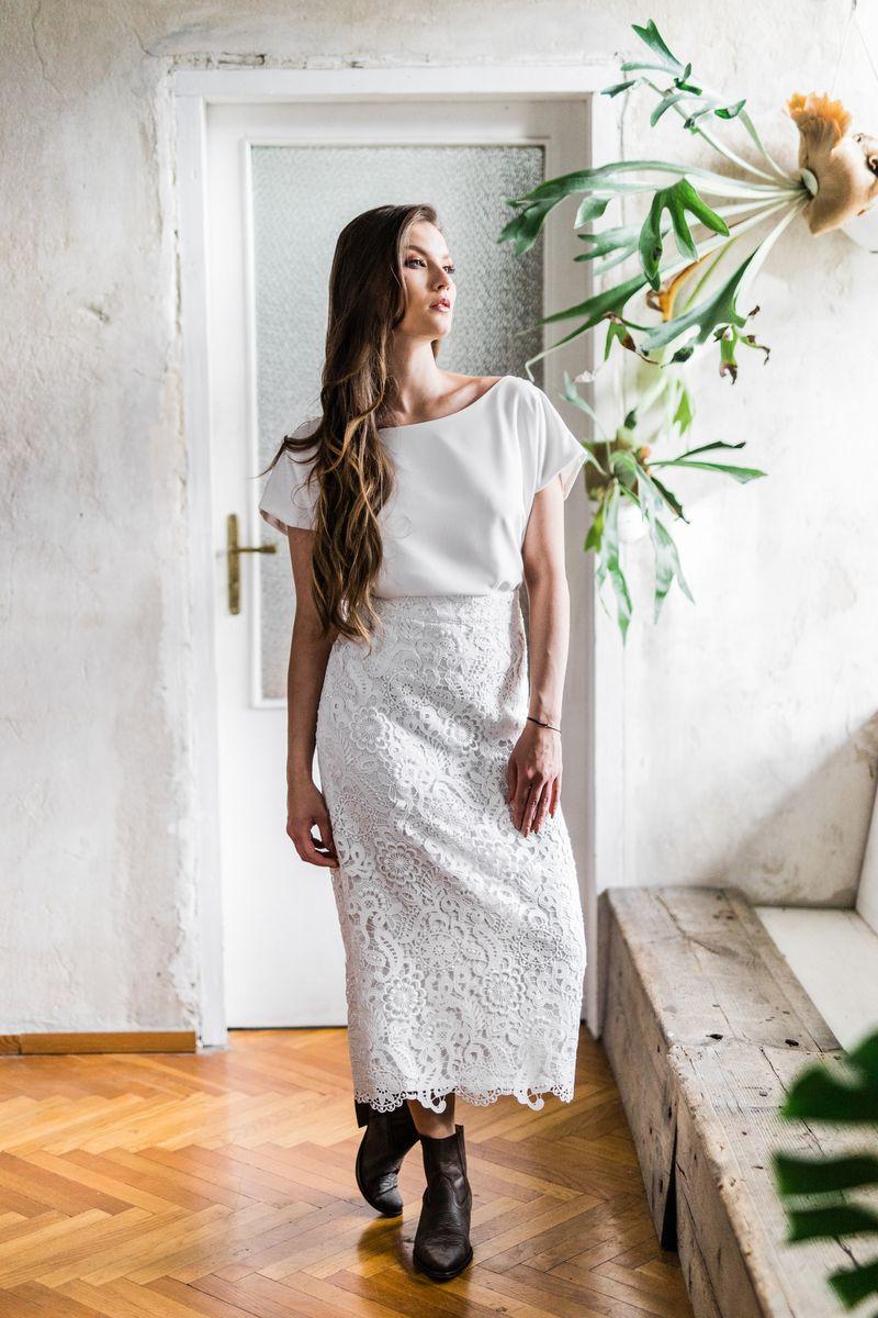 Sukienki ślubne - Boso - Flora