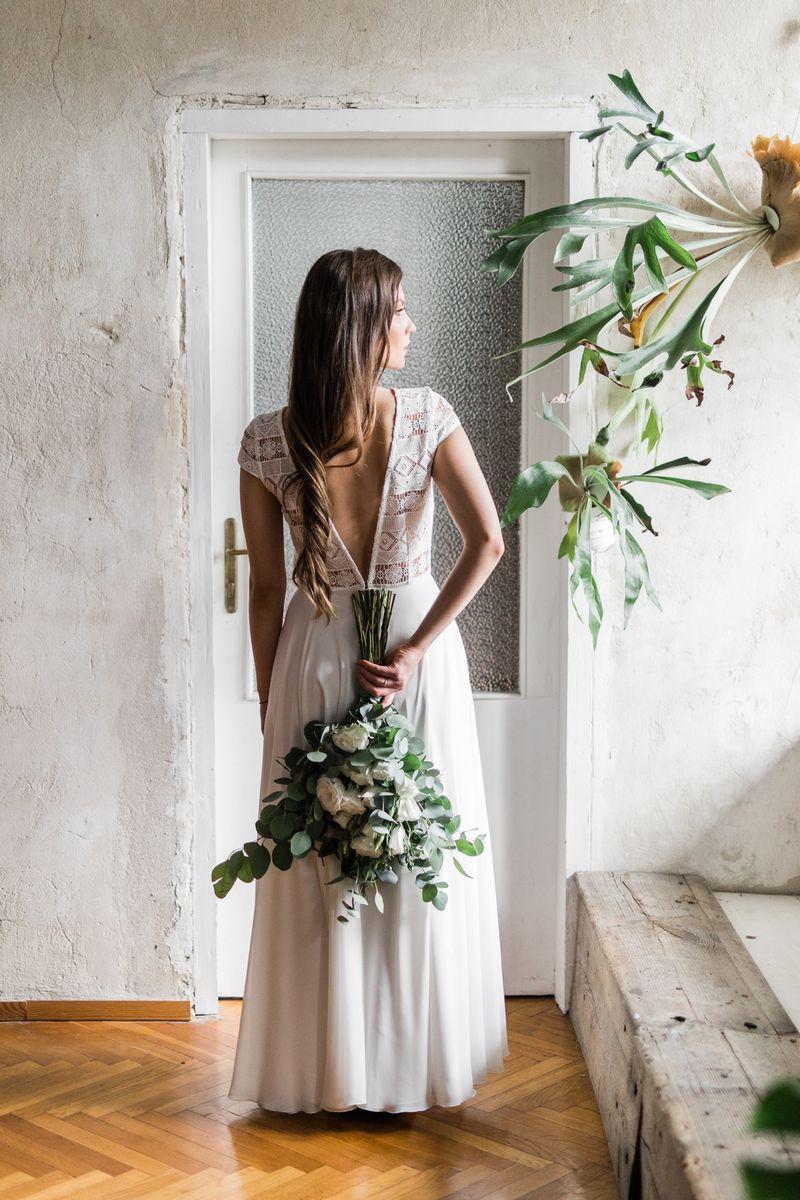 Sukienki ślubne - Boso - Uma