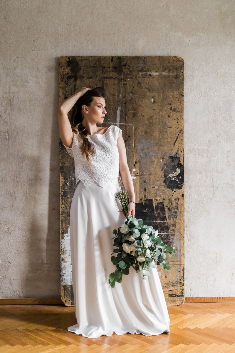 Sukienki ślubne - Boso - Valeria