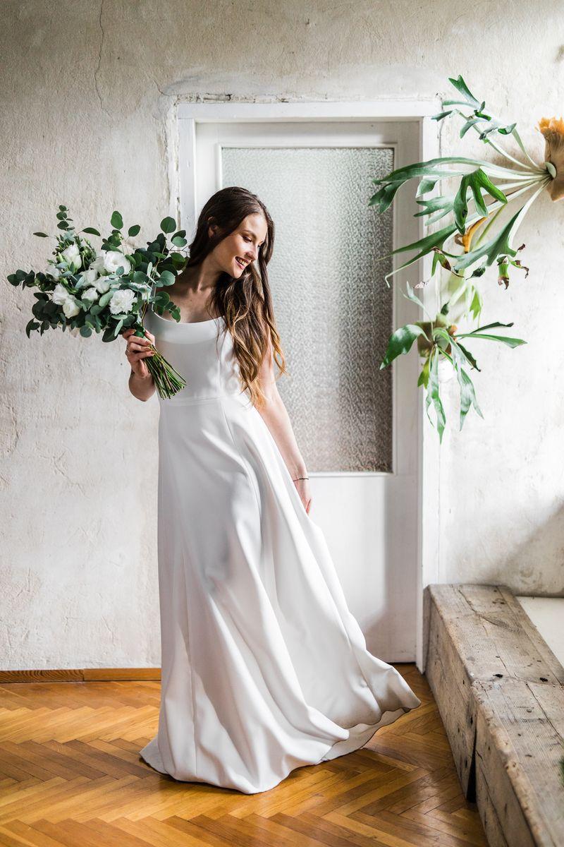 Sukienki ślubne - Boso - Zarina